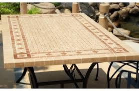 table ronde mosaique fer forge best table salon de jardin fer forge mosaique photos awesome