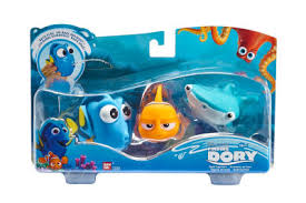Nightmare Before Christmas Bath Toy Set by Dory Marlin And Destiny Bath Toys Finding Dory