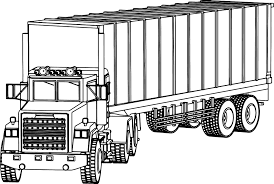 Industrial Truck Big Coloring Page 10 Of The Best Semi Trucks Pages ...