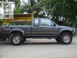 100 1996 Toyota Truck Hilux Jungle Fender Flares