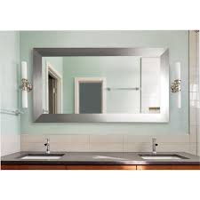 Wayfair Bathroom Vanity Mirrors by Rayne Mirrors Double Wide Vanity Wall Mirror Reviews Wayfair