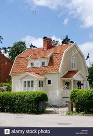100 Homes For Sale In Stockholm Sweden Typical Detached House In Suburbs Of Stock