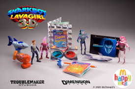 Sharkboy And Lavagirl In 3 D Happy Meal Toy Collection