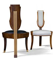 Hand Made Comtemporary Upholstered Wood Dining Chairs By ...