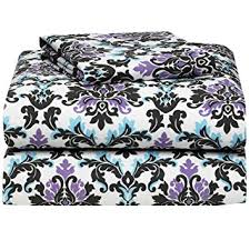 amazon com ashley damask 3 piece twin xl sheet set for college