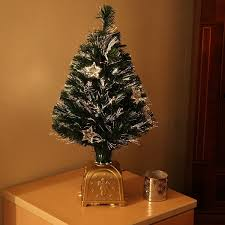 6ft Fibre Optic Christmas Tree With Stars by Fibre Optic Christmas Trees