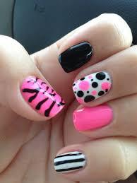 Pink Nail Art Designs 5