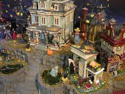 Lemax Halloween Village Displays by Galleries Showcase Displays