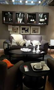 tidafors sofa dansbo medium brown foam cushions memory foam