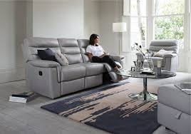 Small Recliner Chairs And Sofas by Living Room Glider Seater Sofa An Oyster Grey Left Right Power