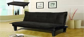 canapé tissu noir clic clac à prix défiant toute concurrence