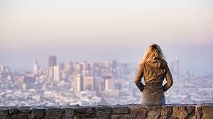 Alone Girl New York City