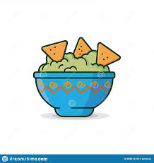guacamole stock illustrationen vektoren kliparts 4 987
