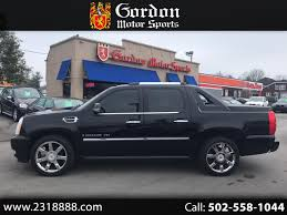 100 Used Trucks Louisville Ky 2009 Cadillac Escalade EXT For Sale In KY 40291