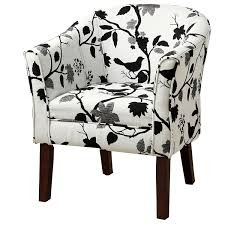Amazon.com: Upholstered Accent Chair Black And White: Kitchen & Dining Accent Chairs Armchairs Swivel More Lowes Canada Brightly Colored Best Home Design 2018 Skyline Fniture Swoop Traditional Arm Chair Polyester Armless Amazoncom Changjie Cushioned Linen Settee Loveseat Sofa Powell Diana In Black White Floral Red Barrel Studio Damann Armchair Reviews Wayfair Aico Beverly Blvd Collection Sit Sleep Walkers Cimarosse Gray Shop 2pcs Set Dark Velvet Free Upholstered Pattern