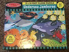 melissa doug animals cardboard 15 25 pieces puzzles ebay