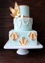 20 Deliciously Decadent Art Deco Wedding Cakes