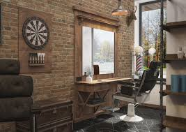 Barber Shop Design Ideas by Winchester Barber Shop By Grafit Architects Bureau Barbershop