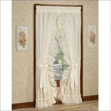 Kohls Double Curtain Rods by Living Room Swag Curtains Kohls Sheer Ruffled Priscilla Curtains