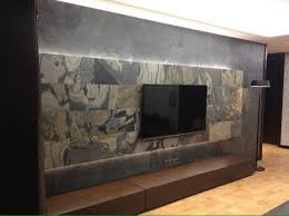 wall with slate lite dormitorios estilo bohemio
