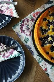 quark grieß kuchen mit heidelbeeren rezept