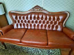barock leder wohnzimmer esszimmer sofa sessel sitzgarnitur
