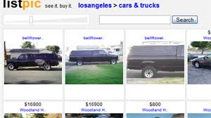 100 Craigslist Los Angeles Cars And Trucks Search With ListPic