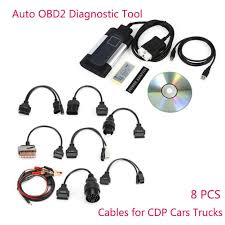 100 Pro Trucks Plus TCS CDP Auto OBD2 Car Truck Scanner Diagnostic Tool For