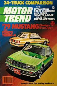 Covered: Ford Mustang Motor Trend Covers From 1964-Present - Motor Trend