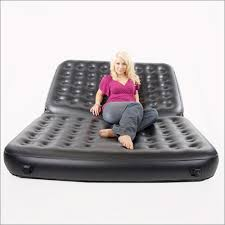 Intex Inflatable Sofa Bed by 5 In 1 Inflatable Sofa Queen Air Bed In Black By Smart Air Beds Bd