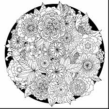 Terrific Printable Adult Mandala Coloring Pages With Free For Adults And
