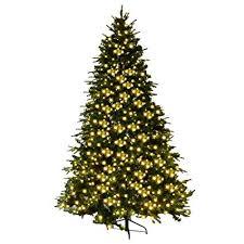 Goplus 8Ft Pre Lit Artificial Christmas Tree Premium Spruce Hinged W 600 LED