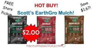 Scott s EarthGro Mulch ly $2 Bag Home Depot