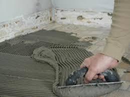 installing ceramic tile on wood floor gallery tile flooring