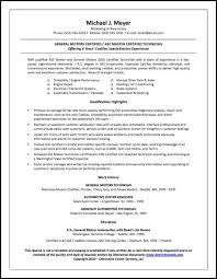 Sample Resume For Blue Collar Jobs