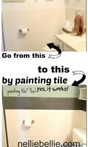 Bathtub Refinishing Kit For Dummies by Best 25 Paint Bathroom Tiles Ideas On Pinterest Painting