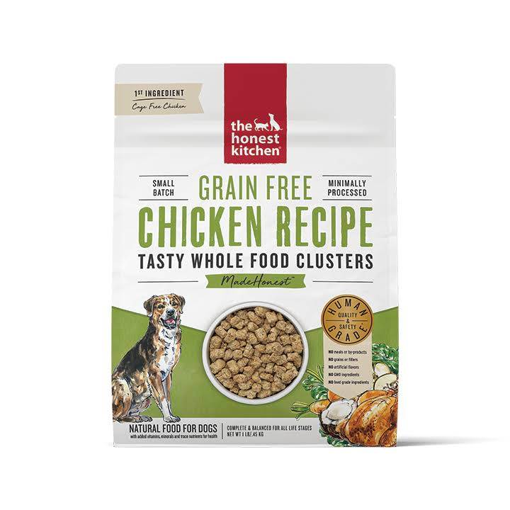 The Honest Kitchen Grain Free Chicken Whole Food Clusters, 1lb Bag