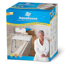 Bathtub Transfer Bench Canada by Aquasense Adjustable Bath And Shower Transfer Bench With