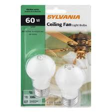 sylvania 60 watt ceiling fan light bulbs 2 0 ct from food