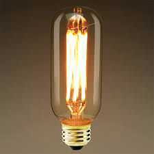 vintage led filament light bulb 6w supper warm edison t45 clear