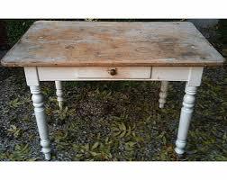 table de cuisine ancienne en bois table bureau 40 relookée factory custom bricol boutique