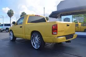 100 Rumble Bee Truck 2004 Dodge Ram V8 Custom FL 26 Wheels Matte Yellow Like