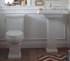 kohler k 2767 0 tresham bathroom sink pedestal white pedestal