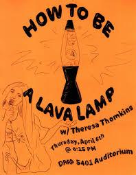 Beatles Help Lava Lamp by Theresa Thomkins Visionary Lava Lamp U0026