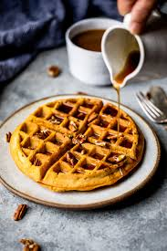 Healthy Pumpkin Desserts by Fluffy Whole Wheat Healthy Pumpkin Waffles A Good Morning Fall