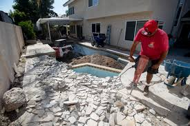 Why The Southern California Pool Industry Went From 'panic Mode' To ... Pool Builder Northwest Arkansas Home Aquaduck Water Transport Delivery Mr Bills Pools Spas Swimming Water Truck To Fill Pool Cost Poolsinspirationcf The Diy Shipping Container Buy A Renew Recycling Supply Dubai Replacing Liner How Professional Does It Structural Armor Bulk Hauling Lehigh Valley Pa Aqua Services St Louis Mo Swim Fill On Well