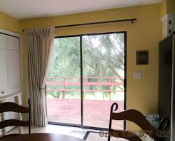 Kitchen Curtain Ideas For Large Windows by Kitchen Window Treatments For Sliding Glass Doors In Kitchen