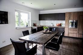 offene küche mit essbereich fischerhaus fertighäuser aus
