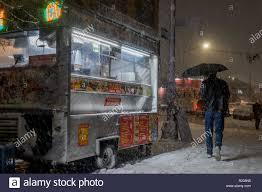 100 Hodge Podge Truck New York United States 15th Nov 2018 Street Vendors Held Their