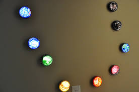 Bedroom Wall Lamps Walmart by Push Light Planets Activities For Children Paint Play Rainy